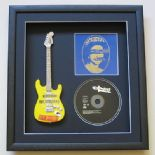 SEX PISTOLS - God Save The Queen CD Single & MINIATURE GUITAR